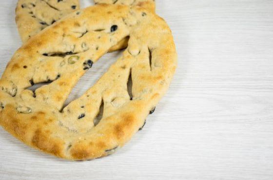 Mixed Olive Fougasse