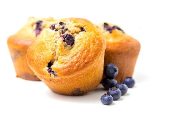 Muffin and Creme Cake
