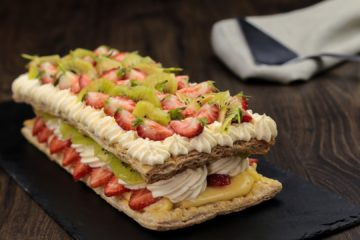 Fresh Fruit Mille-Feuille