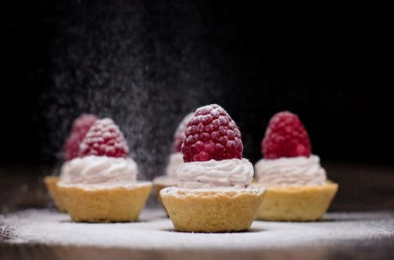 Raspberry Mini Tart
