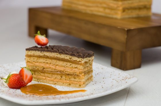 Rich Caramel Layer Cake