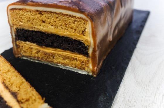 Caramel Bar Cake