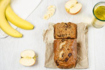 Apple and Cider Banana Bread