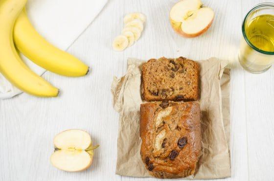 Apple and Cider Banana Cake
