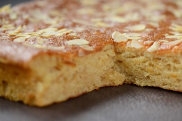 Honey and Almond Slice