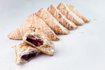 Cherry Bakewell Turnover