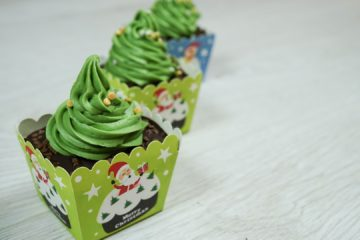 Christmas Tree Cupcake Recipe