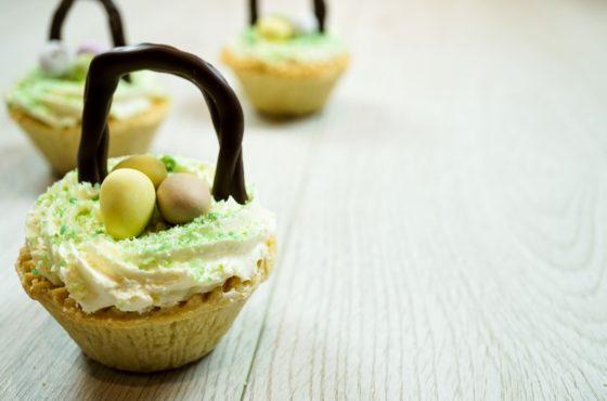 Almond Easter Basket