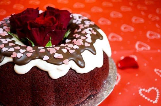 Valentines Bundt Cake