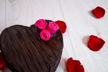Valentine's Brownie