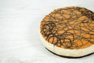 Double Caramel Cheesecake