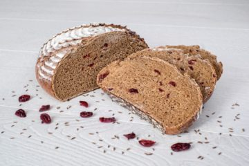 Caraway and Cranberry Rye Bread