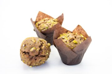 Vegan Chocolate and Pistachio Muffin