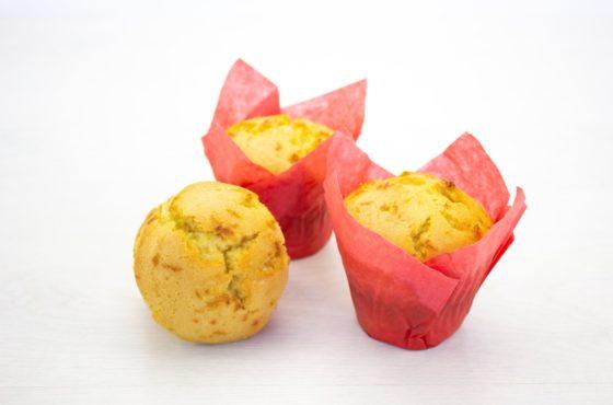 Vegan Ginger and Lemon Muffin