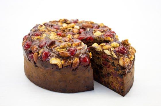 Vegan Rich Fruit Cake
