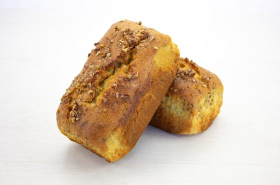 Vegan Pecan and Banana Loaf Cake
