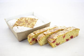 Vegan Cherry and Almond Traybake