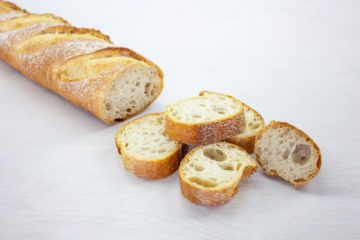 Baguette with Wheat Sourdough