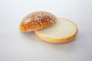Burger Bun with Spelt Sourdough