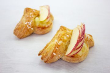 Double Apple and Vanilla Sourdough Danish