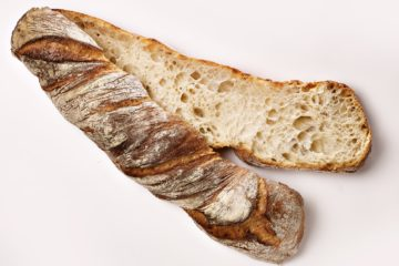 Twisted Bread with Durum Sourdough