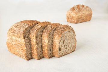 Brown Tin Bread with Wheat Sourdough