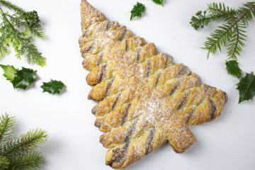 Christmas Tree Danish Pastry Recipe