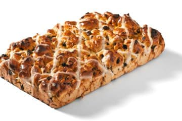 Tear & Share Hot Cross Traybake