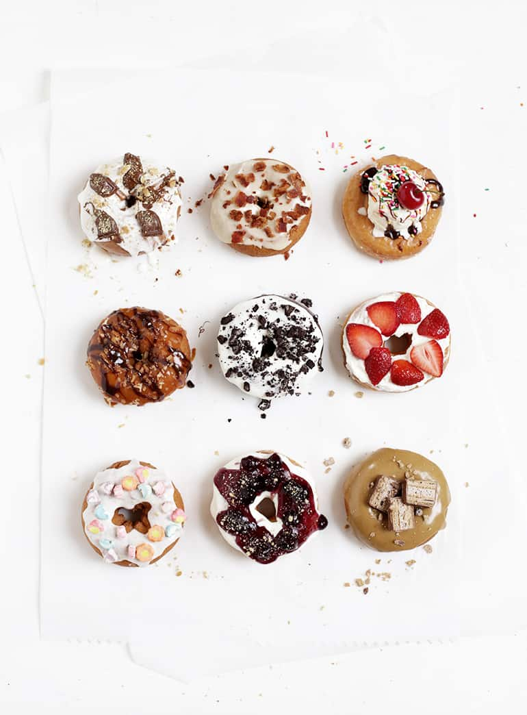 Doughnut Topping Ideas