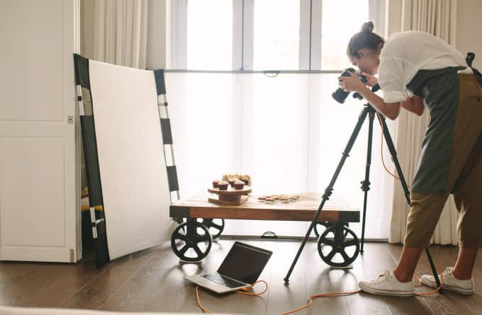 How you can start taking better photos of your baked goods