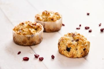 Cranberry & Chive Scone