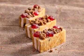 Mincemeat & Cherry Slice